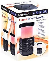 Infapower Flame Effect lantern Dual Funtion 3-6m Beam