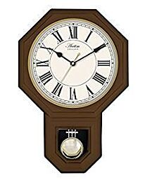 28316 ACCTIM Woodstock Wood effect pendulum wall clock
