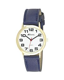 Ravel Unisex Large Classic Strap Watch Blue R0105.26.1A