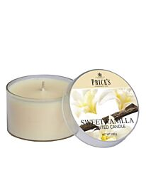 Price's Tin Scented Candle - Sweet Vanilla PPT010311