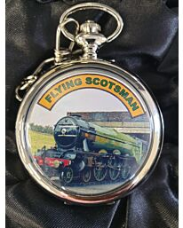 Boxx Picture Pocket watch Flying Scotsman P5061.29