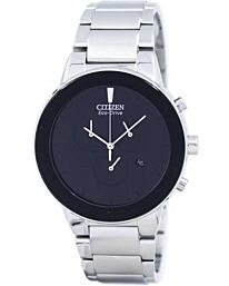 Citizen Axiom Eco-Drive Men's Chronograph Bracelet Watch AT2240-51E