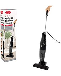 Quest 2-in-1 Upright and Handheld Lightweight Bagless Vacuum Cleaner Black, 600 W- 44839