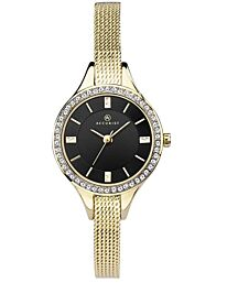 Accurist Watches Women's Analogue Japanese Quartz Watch with Gold Tone Strap 8261