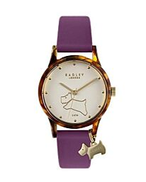 Radley Ladies Purple Silicone Strap Watch RY2850