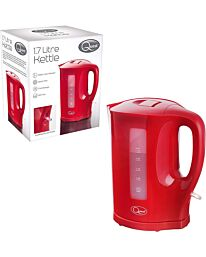 Quest 1.7L Jug Kettle  - Red 35429