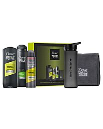 DOVE MEN+ CARE  GYM ESSENTIALS