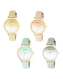 Henley Ladies Fashion Dress Analogue Leather Strap watch H06165