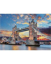 St Helens Home and Garden 1000 Piece Jigsaw Puzzle - Tower Bridge at Sunset