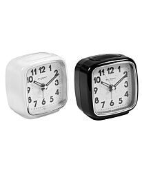 5133 WILLIAM WIDDOP® BEEP ALARM CLOCK WITH SWEEP MOVEMENT  AVAILABLE MULTIPLE COLOUR