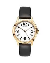 Sekonda Men's Round Dial Leather Strap Watch 1528