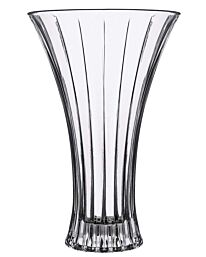 RCR Crystal Timeless Glass Flower Vase Centrepiece - 197mm Diameter