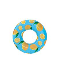 Bestway Scentsational Pool Inflatable Swim Ring Lounger Lemon Scent - BW36229