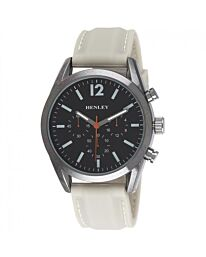 HENLEY MEN'S CONTEMPORARY SPORTS SILICONE WATCH - STONE H02161.2