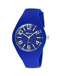 Ravel Unisex Small Summer Days Silicon Watch Blue R1801.16.2A