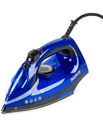 Beldray 2000w Steam Iron with Variable Temperature Control, Blue BEL0929