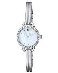 Caravelle New York Women's crystal accent bangle Watch 44L213