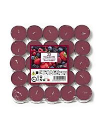 Aladino Mixed Berries Nightlights Candles Pack of 25  RRP £2.99 - 021938D