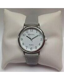 Ravel Ladies Classic Strap Large Watch Grey R0137.13.1