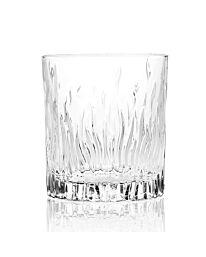 RCR Fire Crystal Short Whisky Water Tumblers Glasses, 240 ml, Set of 6