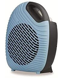 Kingavon Blue Tone 2kw Upright Fan Heater with Thermostat- FH196