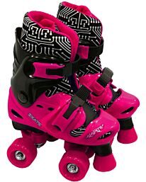 Electra Quad Boot Medium Blk &Pink 13J-2