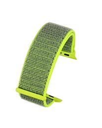 APM -Flourscent Yellow Material Strap To Fit Apple Smart Watch Available sizes 38mm - 42mm