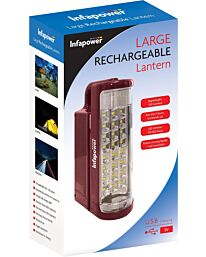 Infapower Compact Rechargeable Lantern 24 superbright 520 lumens