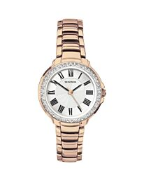Sekonda Ladies Rose Gold Bracelet Watch 2846