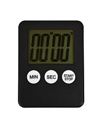 Altai Large Display Digital Countdown Timer with Magnet- Black