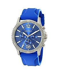Mens Caravelle New York Logan Chronograph Watch 43A117