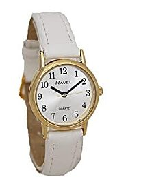 Ravel Ladies Classic Strap Watch White R0137.24.2