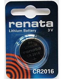 RENATA CR2016 LITHIUM BATTERIES  (1pc only)