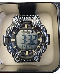 POLIT Gents LCD watch in Tin, assorted stlyes and colours CW-0035