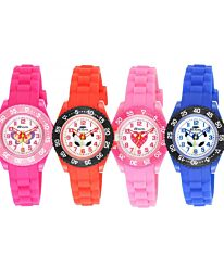 Ravel Kid's Silicone Watch R1807-Hot Pink/Red/Blue/Pink