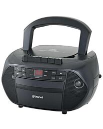 Groove Portable Radio/cassette and CD player