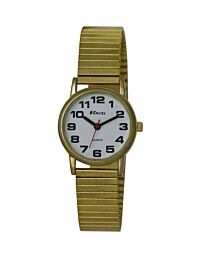 Ravel Ladies Watch Gilt Expander Strap