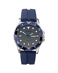 Sekonda Men's Blue Rubber Strap Watch 1702