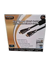 Labgear 15mt HDMI to HDMI cable H Speed HDM 15E-S
