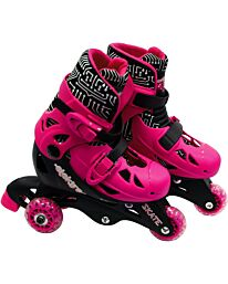 Ozbozz Elektra triline 3 Wheels Adjustable Boot for Girls Outdoor Game