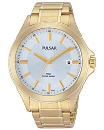 PULSAR GENTS GILT DRESS WATCH PS9306