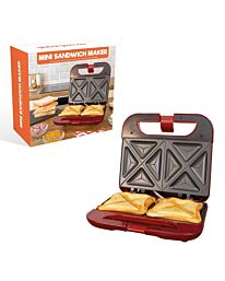 Mini Toasted Sandwich Maker Non-Stick & Easy Clean Plates 22cm x 21cm 35549