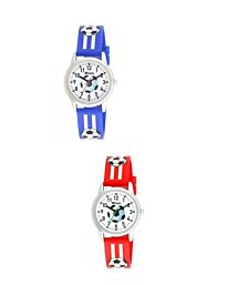 R1809 RAVEL CHILDRENS RUBBER FOOTBALL WATCH AVAILABLE MULTIPLE COLOUR