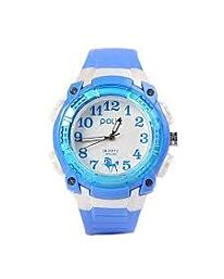 POLIT Kids Analog watch in Tin, assorted stlyes and colours CW-0032
