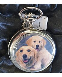 Boxx Picture Pocket watch Labrador Dogs P5061.20