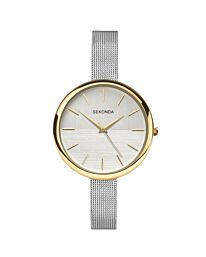 Sekonda Women's Fashion Classic Mesh Bracelet Watch 2561