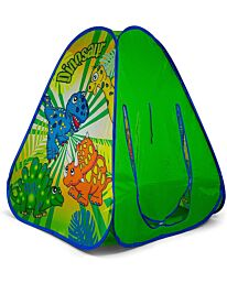 Ozbozz Dinosaur Hours of Fun Playing in Your pop up Tent, Green SV15482
