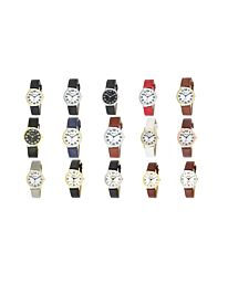 RAVEL MENS CLASSIC FAUX LEATHER STRAP WATCH R0105G AVAILABLE MULTIPLE COLOUR