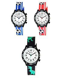 Ravel Children's Silicone Watch Available Multiple Colour R1811
