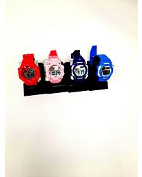 POLIT Kids Digital watch in Tin, assorted stlyes and colours varied (pack of 10) CW-0026
